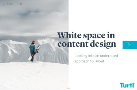 White space in design