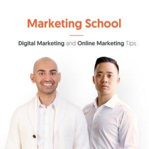 Marketing School podcast cover art